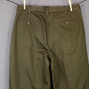 Cambridge Classics Pants - Cambridge Classics Pants Size 34x34 Green Mens